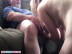 daddy bonks her younger mmf paramour