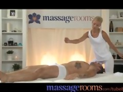 massage rooms horny juvenile golden-haired takes