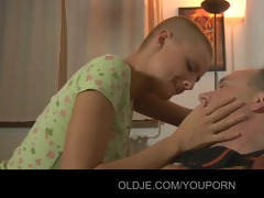 sexy hawt blond legal age teenager tease to fuck
