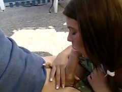 german teen with gorgeous blue eyes screwed and