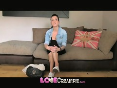 love creampie pleasing young dilettante receives
