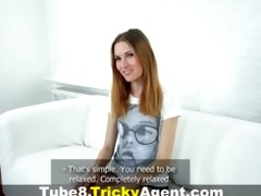 tricky agent - drilled on webcam for the st time
