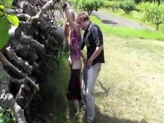 evelinajuliet - bowjob in aplle garden