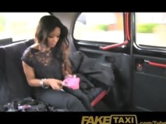 faketaxi small youthful thief pays for her crime
