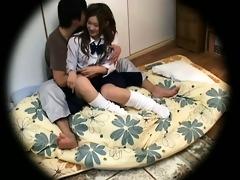 spycam youthful schoolgirl enticed