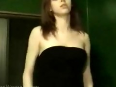 juvenile college gal strip dance