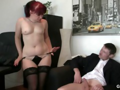 office doxy enjoys dicks