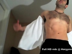 cumming curly thick muscle cock!