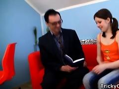 math teacher copulates juvenile coed.