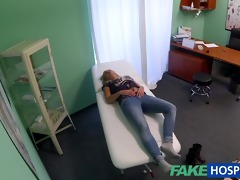 fakehospital dizzy youthful blond takes a