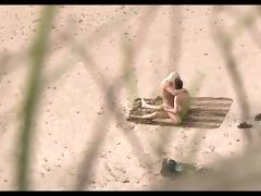 voyeur on public beach. hawt youthful pair sex8