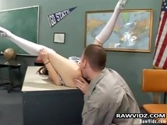 sinless asian hottie drilled by teacher