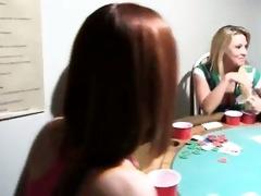 youthful gals intercourse on poker night