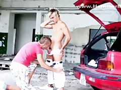blond fine lad fuck from hammerboys.tv