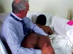 old thrashing dark butt