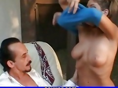 gal fucking old guy outdoor porn golden-haired