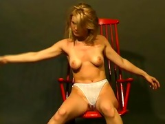 juvenile golden-haired gives us a show - julia