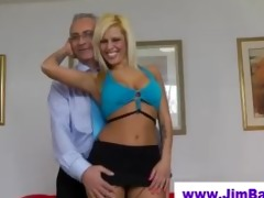 british hottie fingering for old dude