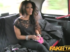 faketaxi small juvenile thief pays for her crime