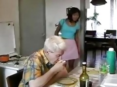 asian legal age teenager screwed by old fellow