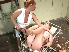 spruce mistress punishing youthful slavegirl