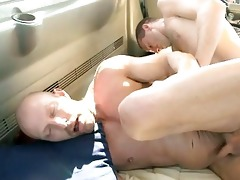 lusty transaction with youthful homosexual