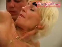 big breasted blond receives filthy with a