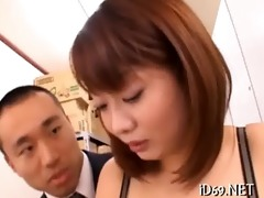 wonderful screw with asian beauty