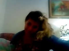 dilettante juvenile blonde squirtyng on cam
