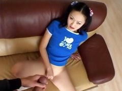 cute oriental honey evelyn lin gives up the arse