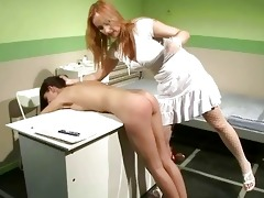 hawt doctor punishing her youthful patient