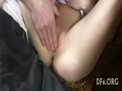 virgin hotty masturbates