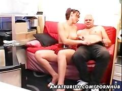 youthful dilettante girlfriend sucks and