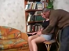 real daughter receive screwed by step dad in abode