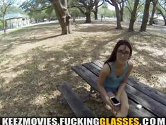 fucking glasses - drilled for a large cash promise