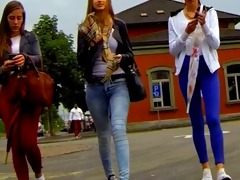 candid - 0 hot youthful honeys walking body