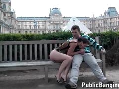paris louvre public trio at the almost all
