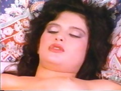 sleeping gal receives a pearl necklace