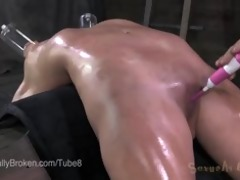 farmers daughter allie james sucks weenie in