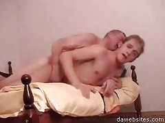 hairless old chap ass fucking a boy hard on the