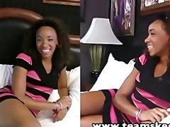 teenyblack youthful ebon michelle brown hardcore