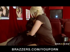 big-tit squirting golden-haired harassed in porn