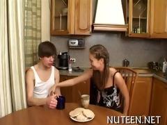 hottie strips her boyfriend