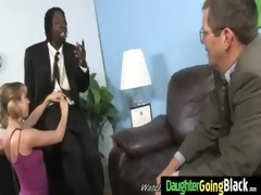 juvenile daughter receives pounded by big