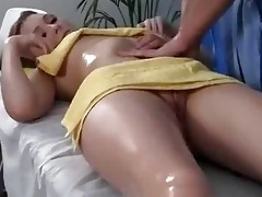 sex massage youthful golden-haired