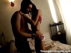 dark brown youthful girlfriend tijana getting